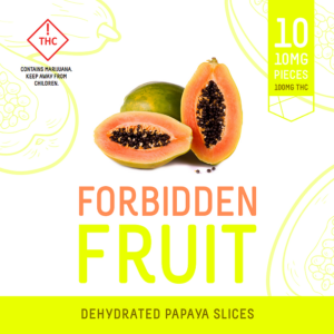 THC Dried Fruit by Forbidden Fruit